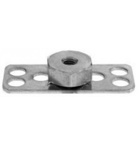 BigHead Mild Steel Female Hex Nut M10