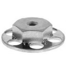 BigHead Mild Steel Female Hex Nut M4