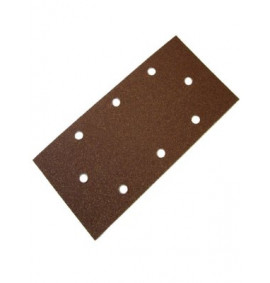 Faithfull 1/3 Sanding Sheet Red B/D Perforated Assorted