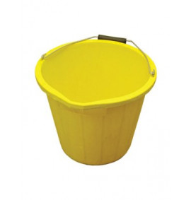Faithfull 3 Gallon 15 litre Bucket - Yellow