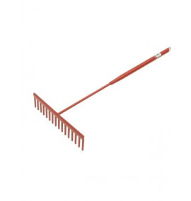 Faithfull 6 Flat Teeth Asphalt Rake - FAIASP
