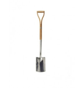 Faithfull Border Spade Stainless Steel with Ash Shaft YD
