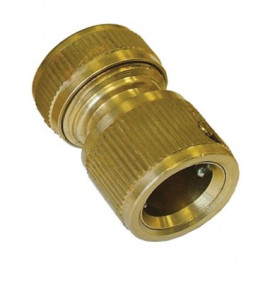 Faithfull Brass Female Water Stop Connector 1/2in