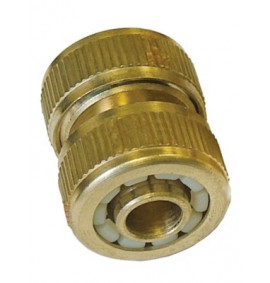 Faithfull Brass Hose Mender 1/2in
