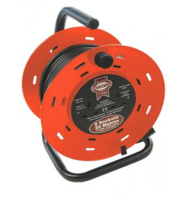 Faithfull Cable Reel 13 Amp 230 Volt