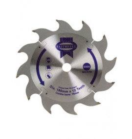Faithfull Circular Saw Blade 180mm