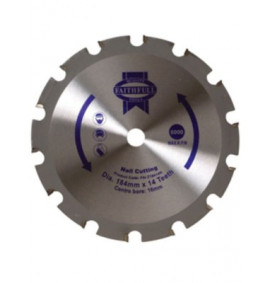 Faithfull Circular Saw Blade 184mm