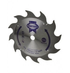 Faithfull Circular Saw Blade 190mm
