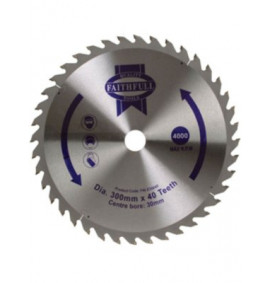 Faithfull Circular Saw Blade 300mm
