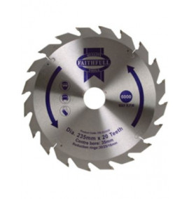 Faithfull Circular Saw Blade TCT 235mm