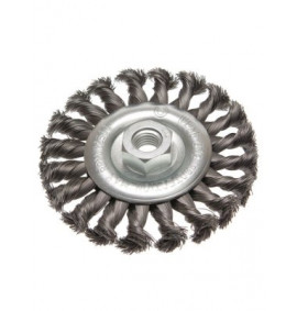 Faithfull Circular Wire Brush 115mm x 12 x M14 x 2 0.35mm
