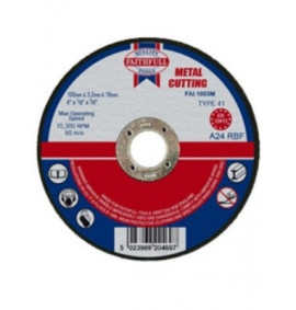 Faithfull Cut Off Disc for Metal - FAI1003M