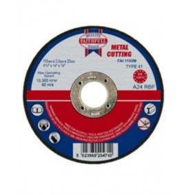 Faithfull Cut Off Disc for Metal - FAI1153M