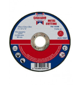 Faithfull Cut Off Disc for Metal - FAI1253M