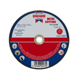 Faithfull Cut Off Disc for Metal - FAI2303M