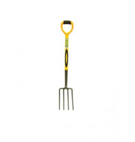 Faithfull Digging Fork Steel Shaft Soft-Grip Handle