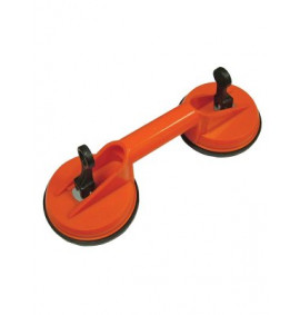 Faithfull Double Pad Suction Lifter 120mm Pads