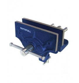 Faithfull Home Woodwork Vice 150mm & Integrated Clamp