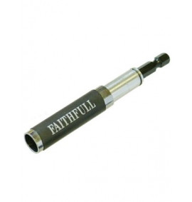 Faithfull Magnetic Bit Holder, Finder & Guide 80-115mm