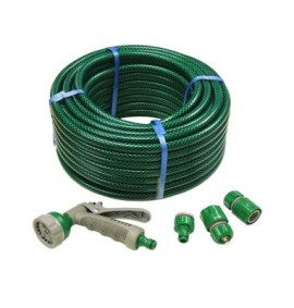 Faithfull PVC Reinforced Hose Fittings & Spray Gun