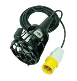 Faithfull Plastic Inspection Lamps & 3m Cable