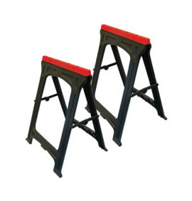 Faithfull Plastic Trestles (Set of 2)