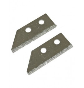 Faithfull Replacement Carbide Blades For Grout Rake