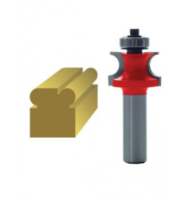 Faithfull Router Bit TCT 3.2mm Corner Bead 1/4in Shank