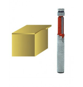 Faithfull Router Bits TCT Mini Trim 1/4in