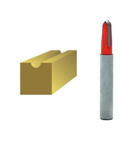 Faithfull Router Bits TCT Radius 1/4in