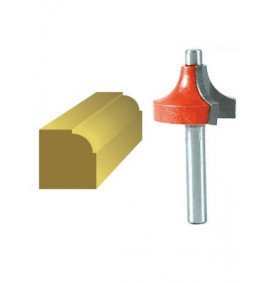 Faithfull Router Bits Tungsten Carbide Ovolo 1/4in