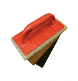 Faithfull Scouring Pad Holder Plus Fine, Medium & Coarse Pads