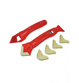 Faithfull Silicone Scraper Kit Two Piece