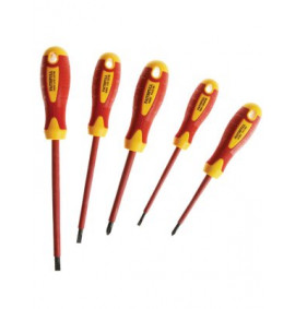 Faithfull VDE Screwdriver Soft Grip Set of 5