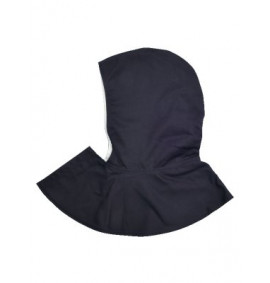 Flame Retardant Hood With Short Cape