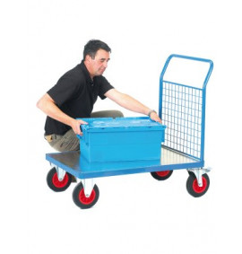 Fort Platform Trucks - Galvanised with Mesh