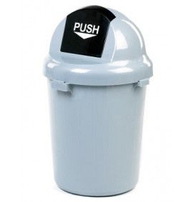 Half Round Head Dustbin