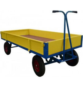 Hand Drawn Truck with Sheet Steel Sides & Ends (200mm Deep)