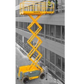 Haulotte Compact 12DX Electric Scissor Lift