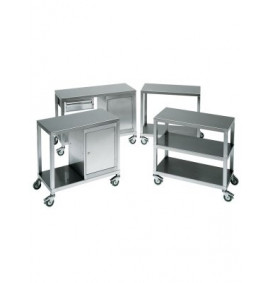 Heavy Duty Stainless Steel Trolleys - SMT Series