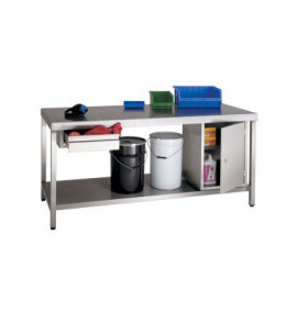 Heavy Duty Stainless Steel Workbenches