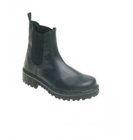 Himalayan Black Leather Dealer Safety Boot