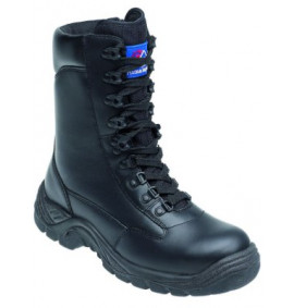 Himalayan Black Leather High Cut Safety Boot