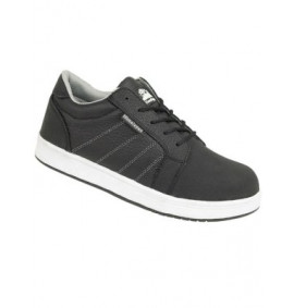 Himalayan Black Leather Iconic Skater Shoe