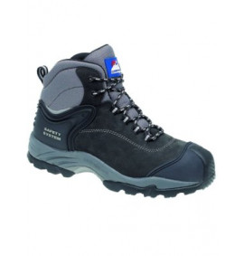 Himalayan Black Nubuck Safety Boot
