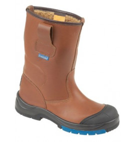 Himalayan Brown HyGrip Safety Warm Lined Rigger