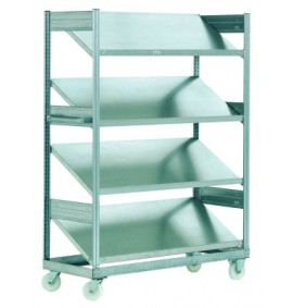 Inclined Mobile Shelving