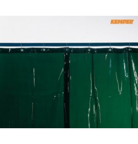 Kemper Welding Curtains - Light Green