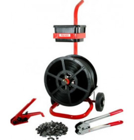 Kit 4 Tensioner/Crimper & Mobile Dispenser with 12mm Strap & Seals