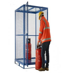 Knock Down Cylinder Cages